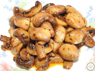 Ciuperci cu usturoi reteta,