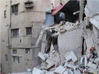 مصرع عامل وربة منزل في حادثي انهيار عقارين بالمنيا