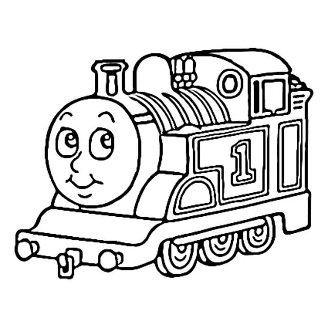 - The Holiday Site: Coloring Pages Of Thomas The Tank Engine Free And  Downloadable