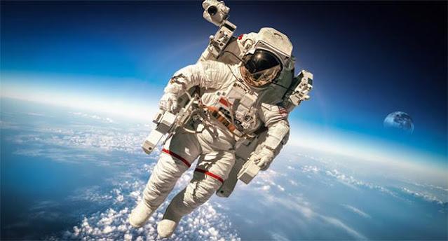 astronot, tinggi badan astronot, tambah tinggi astronot