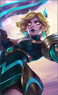 Eudora Emerland Enchantress Heroes Mage of Skins V3