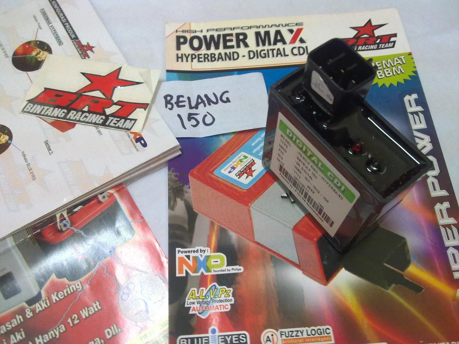 CDI BRT POWERMAX HYPERBAND SUZUKI BELANG R150 / RAIDER 150