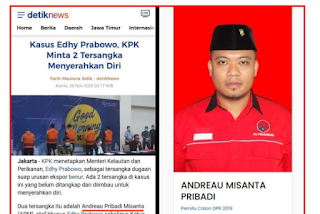 Buronan Kasus Menteri Edhy Prabowo, Eks Caleg PDIP? Akankah Jadi Harun Masiku Jilid 2?