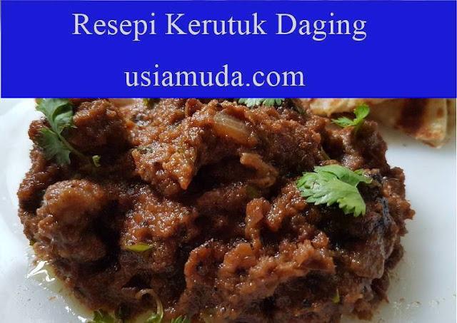 Resepi Kerutuk Daging / Ayam Kelantan Sedap yang Menambah Selera