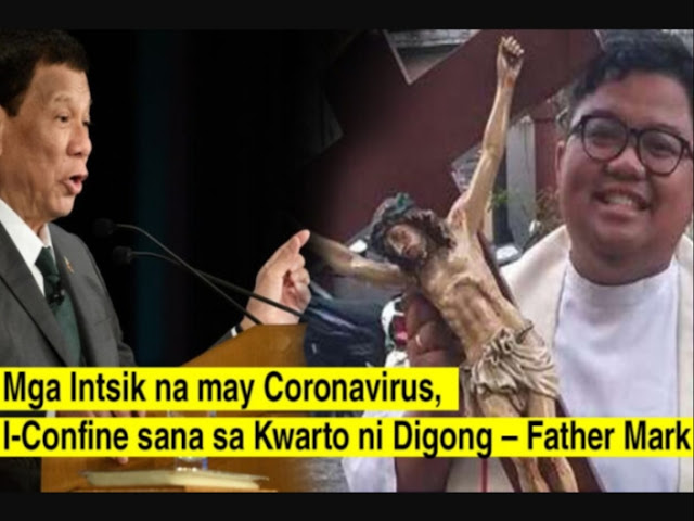 Pari, binumbahan si Pangulong Duterte kaugnay sa nCov