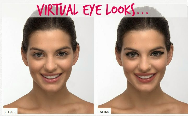 GlamST.  Virtual Makeover Eye Looks, By Barbie's Beauty Bits