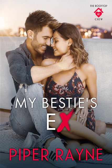 COVER REVEAL: MY BESTIE'S EX by Piper Rayne