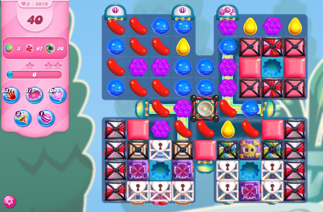 Candy Crush Saga level 9070