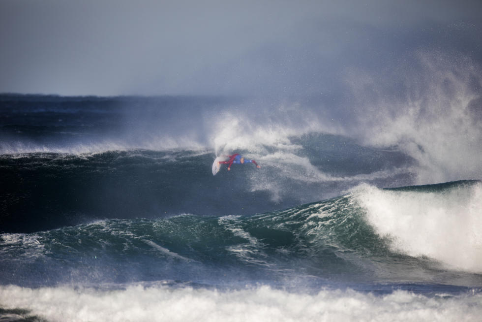 8 Nat Young rug Aware Margaret River Pro foto WSL Matt Dunbar