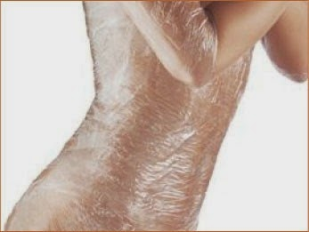in a Body wrap wrap your your stomach in with transparent Lose Weight Fast With A Homemade Body Wrap