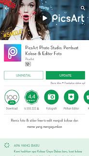 PicsArt bisa dikatakan aplikasi segudang fitur karena PicsArt  memiliki berbagai macam fitur