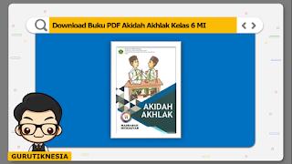 download ebook pdf  buku digital akidah akhlak kelas 6 mi