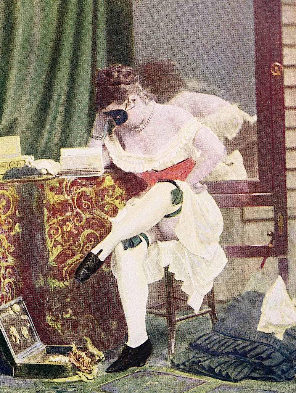 an 1860 erotic photograph