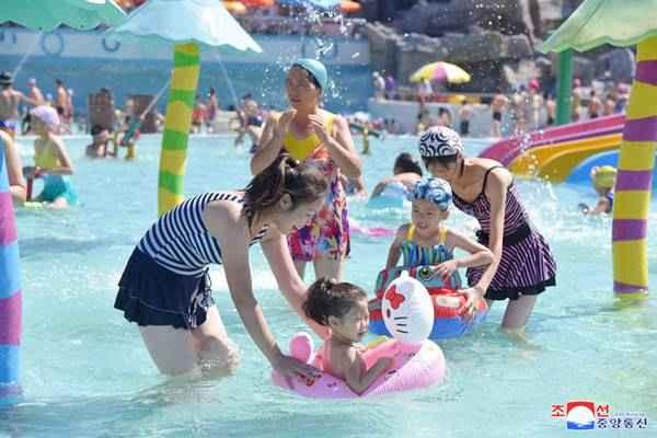 munsu water park in august 2018