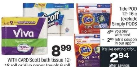 scott bath tissue deal cvs