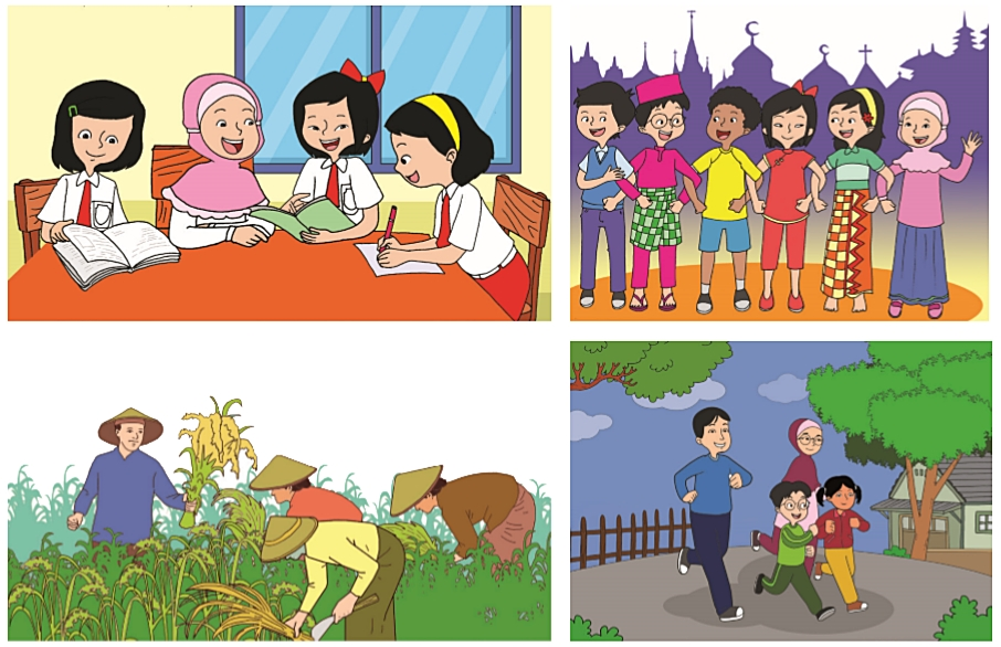 Pembelajaran 3 dimulai dari halaman 17 sampai 25. Kunci Jawaban Buku Siswa Tema 6 Kelas 6 Halaman 113, 114