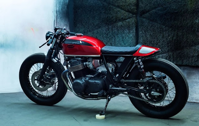 Honda CB750 By Dirty Seven Motorcycles Hell Kustom