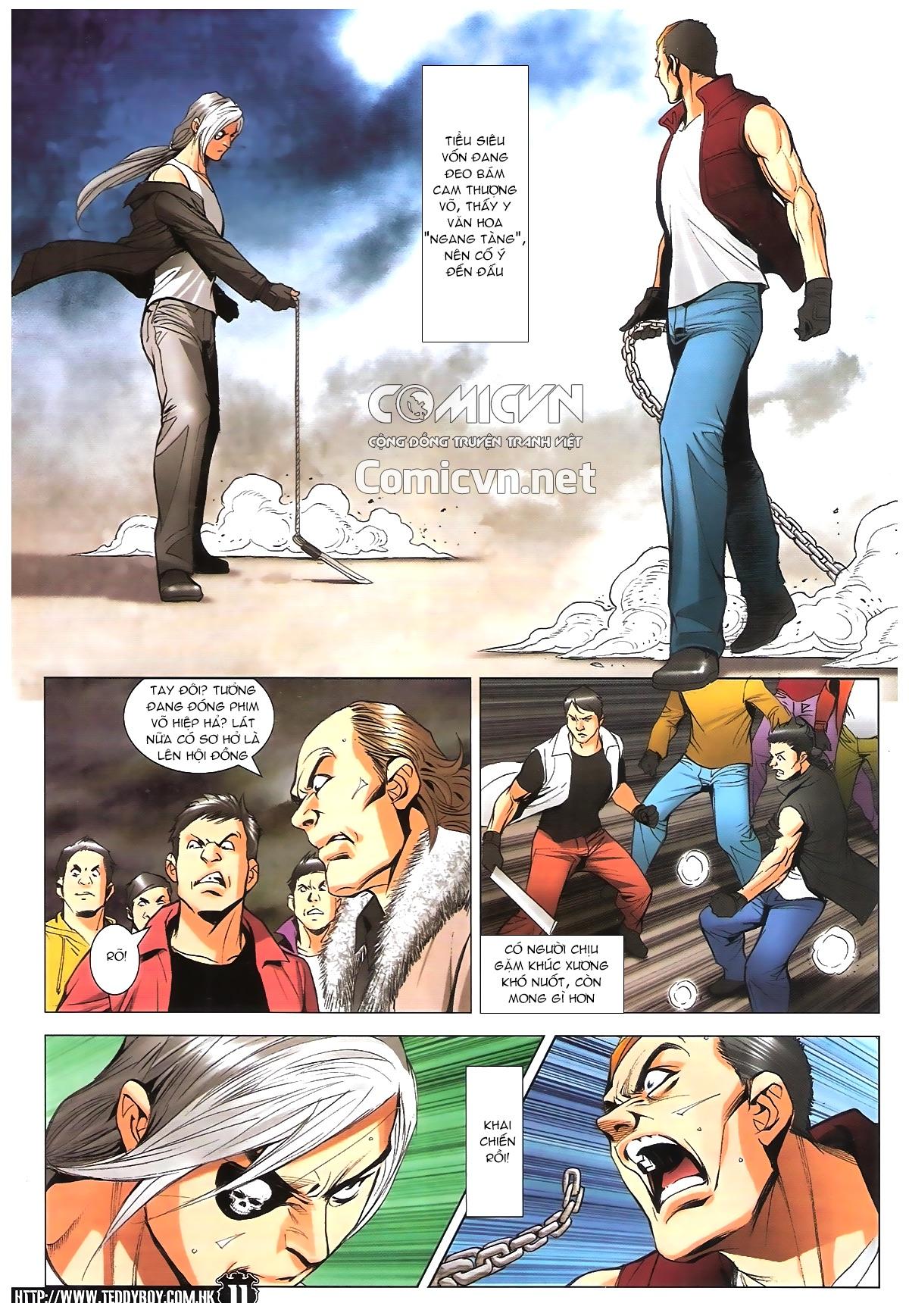 Người Trong Giang Hồ chapter 1787: hỏa thiêu trần hạo nam trang 10