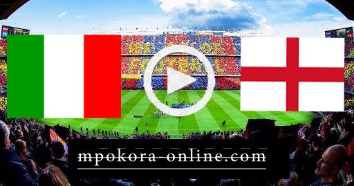 نتيجة مباراة ايطاليا وإنجلترا بث مباشر كورة اون لاين 11-07-2021 يورو 2020