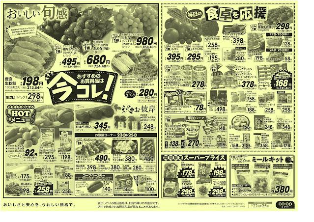 92円均一/今コレ! コープみらい/コープ北越谷店