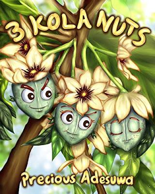 3 Kola Nuts by Precious Adesuwa