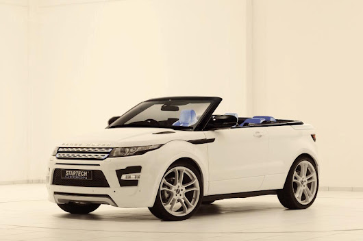 Range Rover Evoque gets a droptop