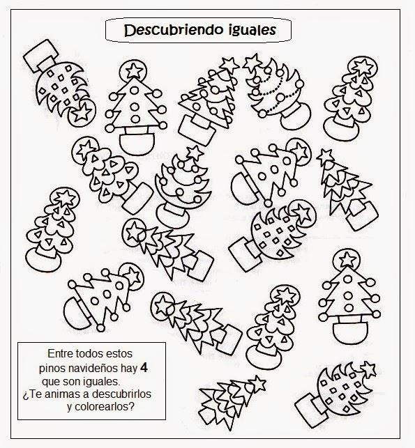 El Rincon De Las Melli Vitral Pino Navideno Para Colorear