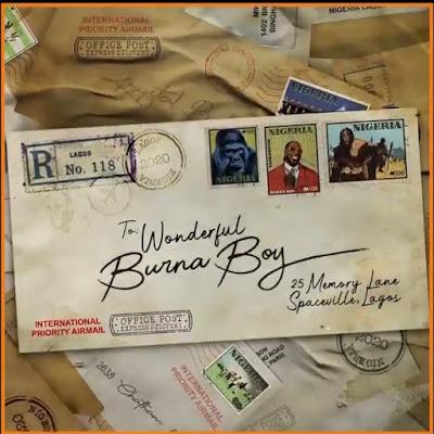 Burna Boy - Wonderful (Prod. By Telz - Audio MP3)