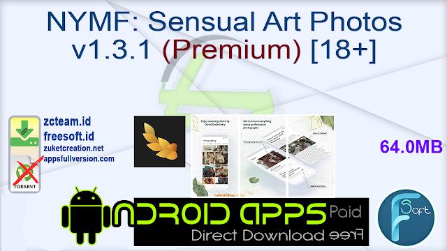 NYMF Sensual Art Photos v1.3.1 (Premium) [18+]