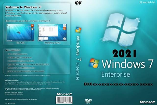 Download Windows 7 Enterprise 2021 Full Activator Key
