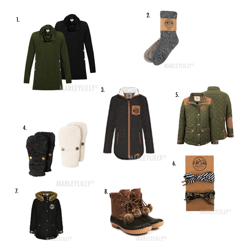 styling pieces for monogram duck boots