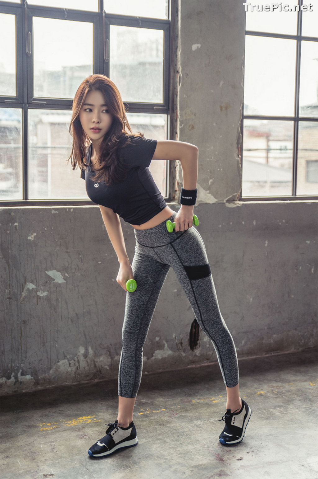 Image Korean Beautiful Model – An Seo Rin – Fitness Fashion Photography #2 - TruePic.net - Picture-2