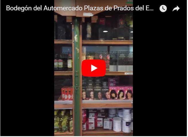 Bodegón vende quincallería en vitrinas del Whisky del Plazas e Prados del Este