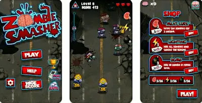 Game Android Kecil RAM - Zombie Smasher