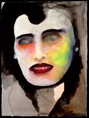A Smile I, pintura de Marilyn Manson.