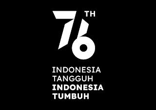 logo resmi hut ri ke 76 2021