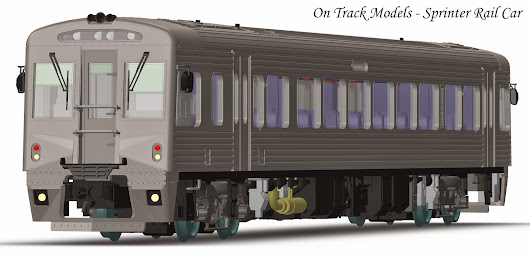 On Track Models Announces the Victorian Sprinter Railcar