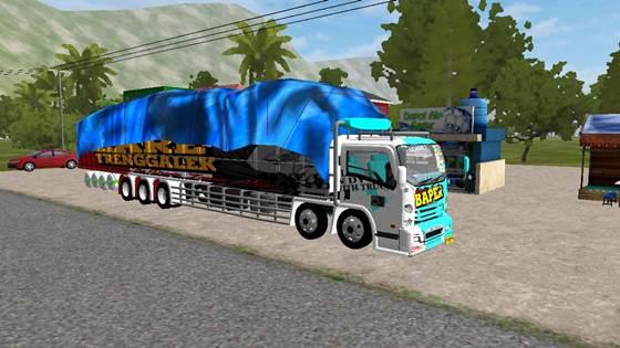 Mod Truck Isuzu NMR71 Tribal Overload Long Chassis