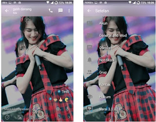 BBM Mod Melody JKT48 V3.0.0.18 Apk