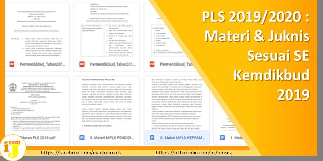(PLS) Pegenalan Ligkungan Sekolah 2019/2020 : Materi & Juknis Sesuai SE Kemdikbud 2019