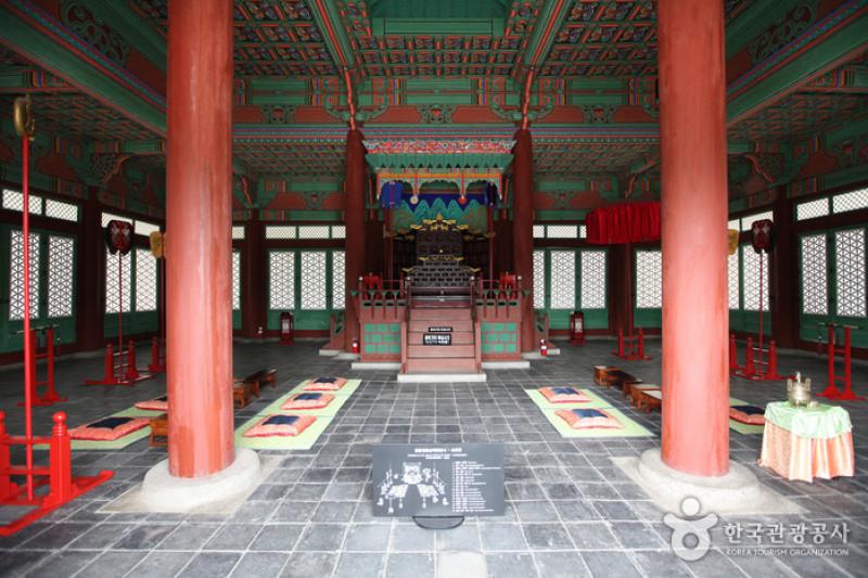 พระราชวังกยองฮุย (Gyeonghuigung Palace: 경희궁)