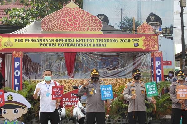 Irwasda Polda Kalteng Cek Kesiapan Operasi Ketupat Polres Kobar