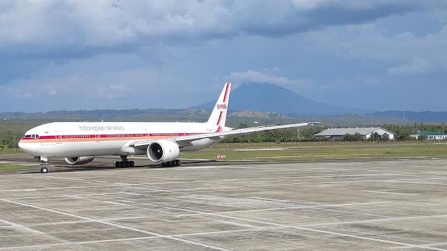 Pesawat Haji Embarkasi Haji Aceh 2019