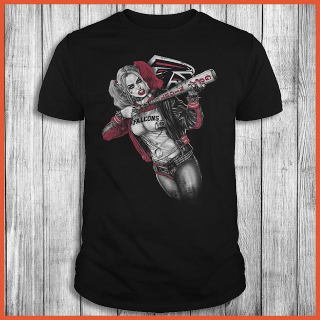 Atlanta Falcons Harley Quinn T-Shirt