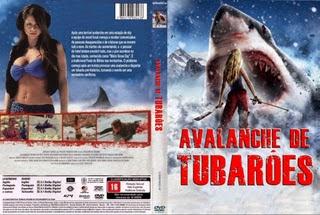 Filme Avalanche De Tubarões (Avalanche Sharks) DVD Capa