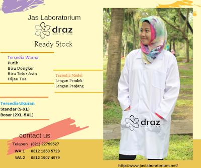 Harga Jual Jas Laboratorium Terdekat 0812 1350 5729