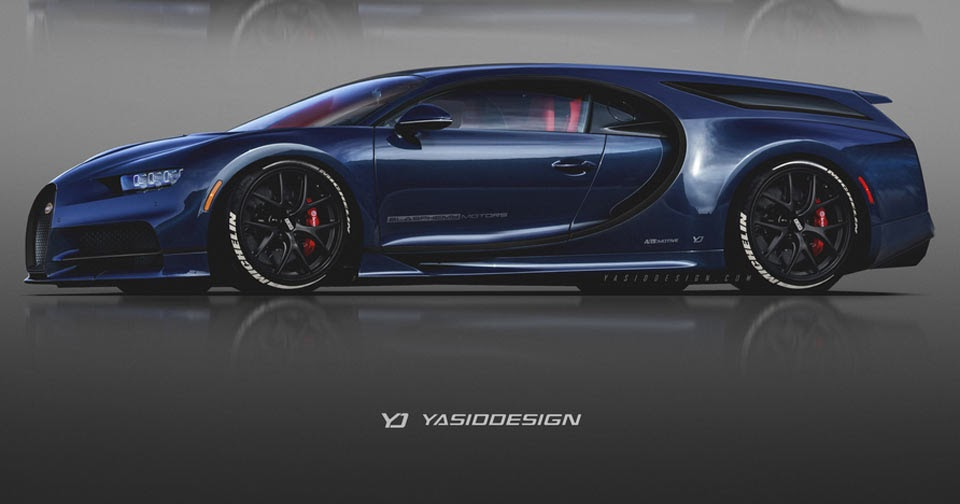 Four Door And Shooting Brake Bugatti Chirons Are