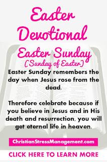 Easter Devotional for Easter Sunday