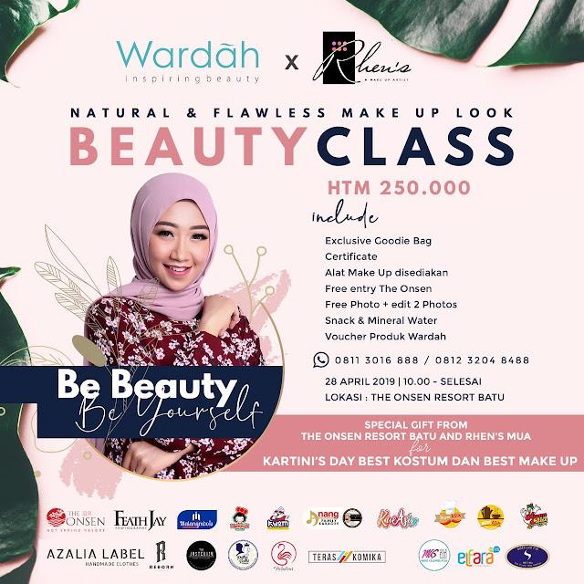 Natural & Flawless Make Up Look ala Kartini Milenial by Rhens Mua