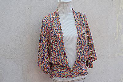 4 - Crochet IMAGEN Linda chaqueta mariposa a crochet y ganchillo fácil y rápida. MAJOVEL CROCHET